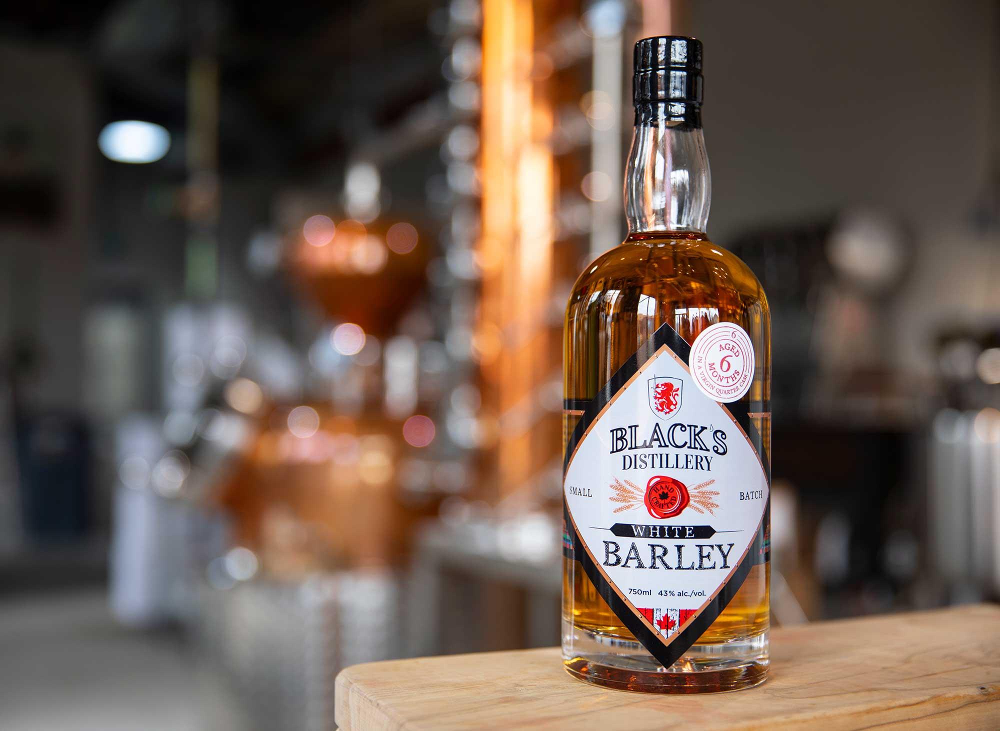 Black's Distillery Aged Barley