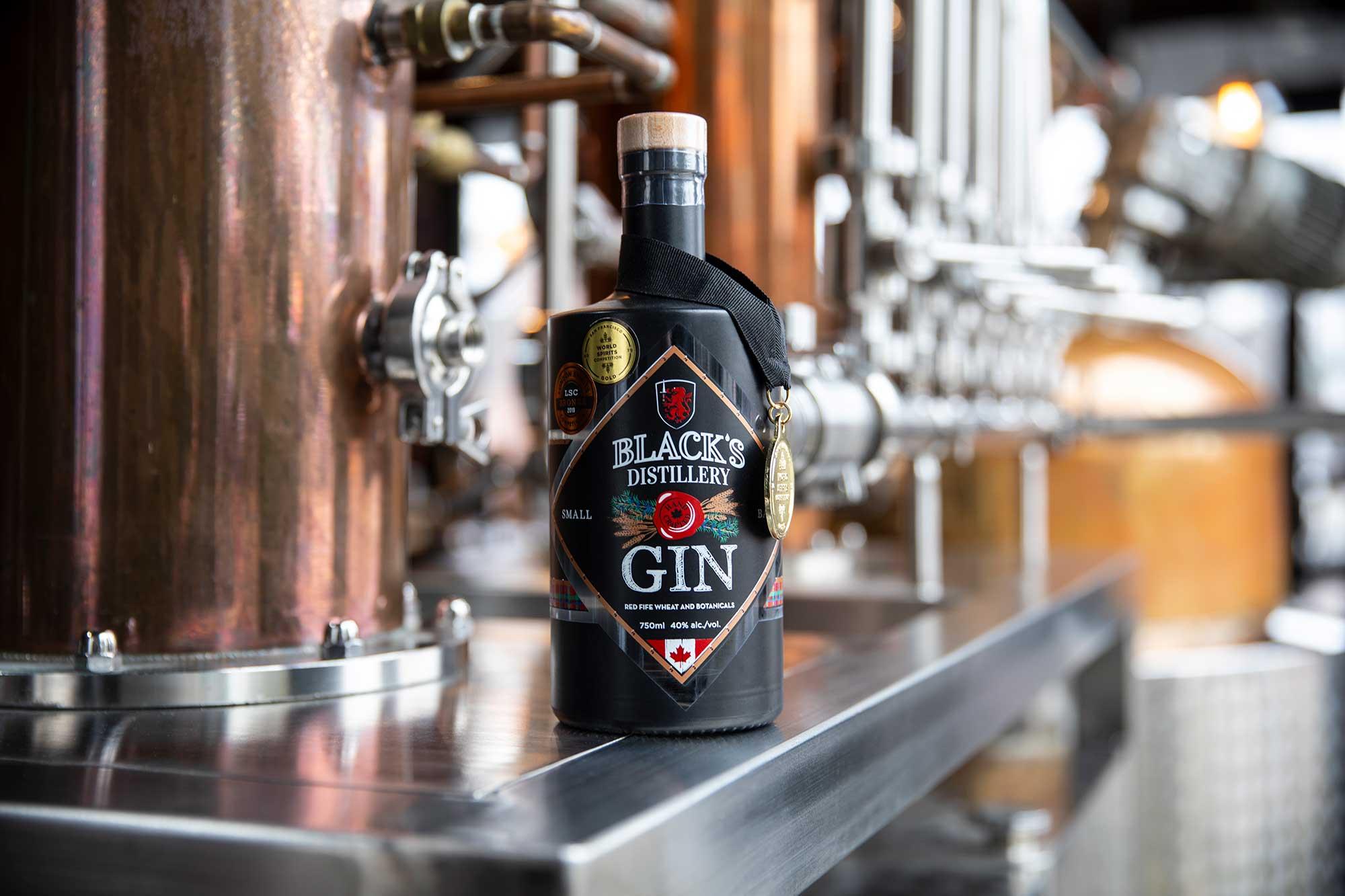 Black's Distillery Gin