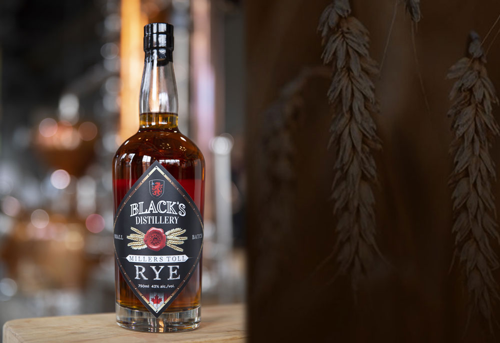 Black's Distillery Millers Toll